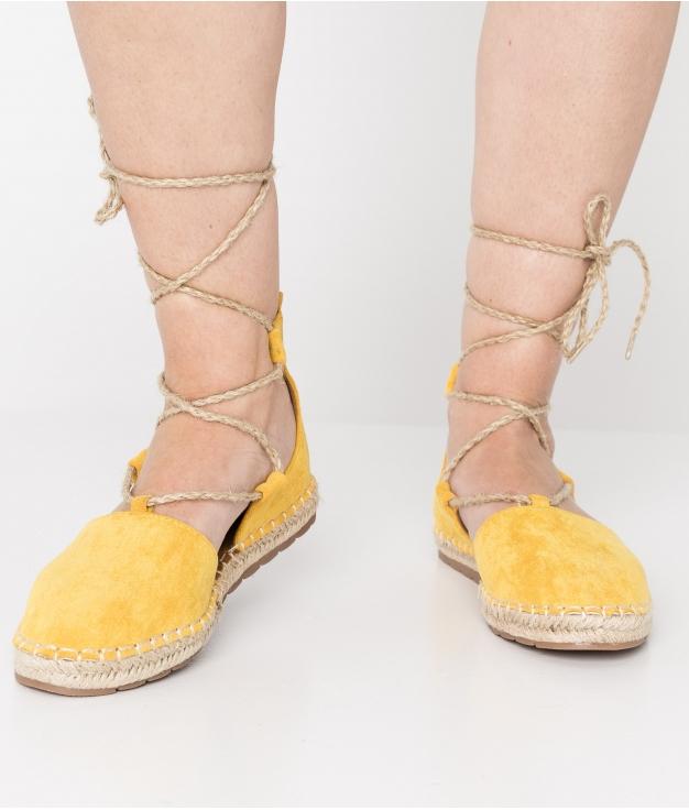 Espadrile Cloet - Yellow