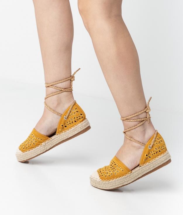 Espadrile Aslan - Yellow