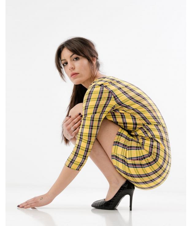 Vestido Candali - Amarillo