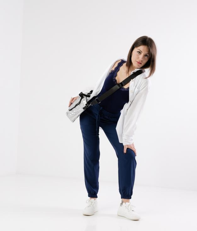 Pantalón Finber - Bleu Marine