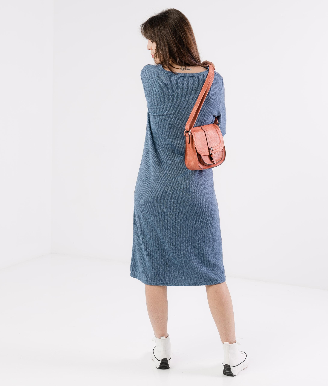 DRESS ESTARLI - BLUE