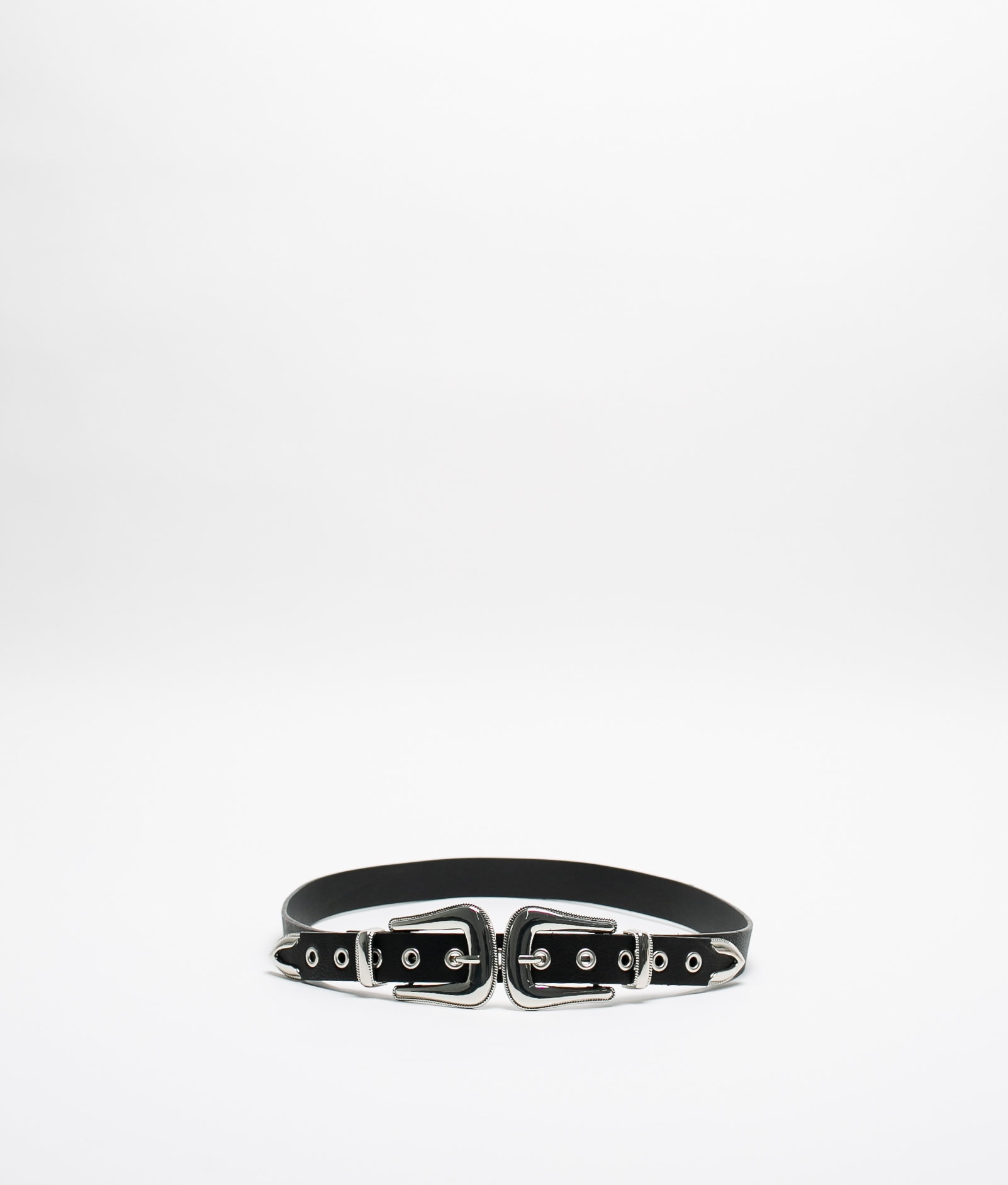 Cintura ROTIN - Nero/Argento