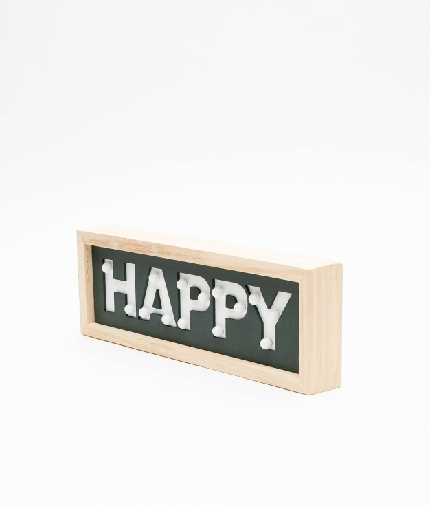 CARTEL HAPPY - NEGRO