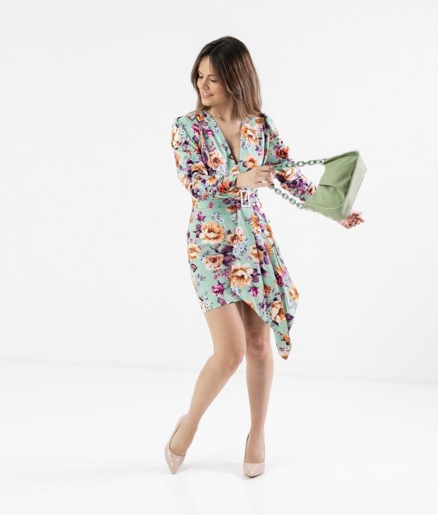 Vestido Droncer - Aguamarina