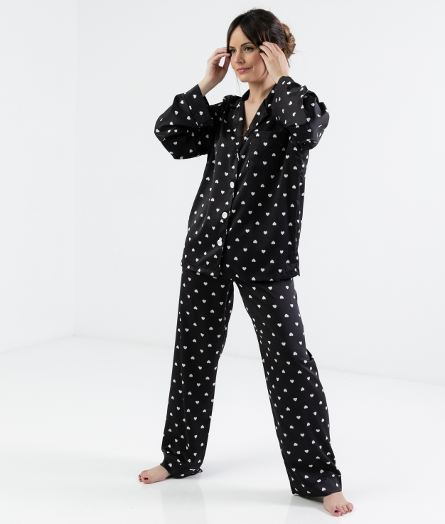 Pijama Lorenta - Negro