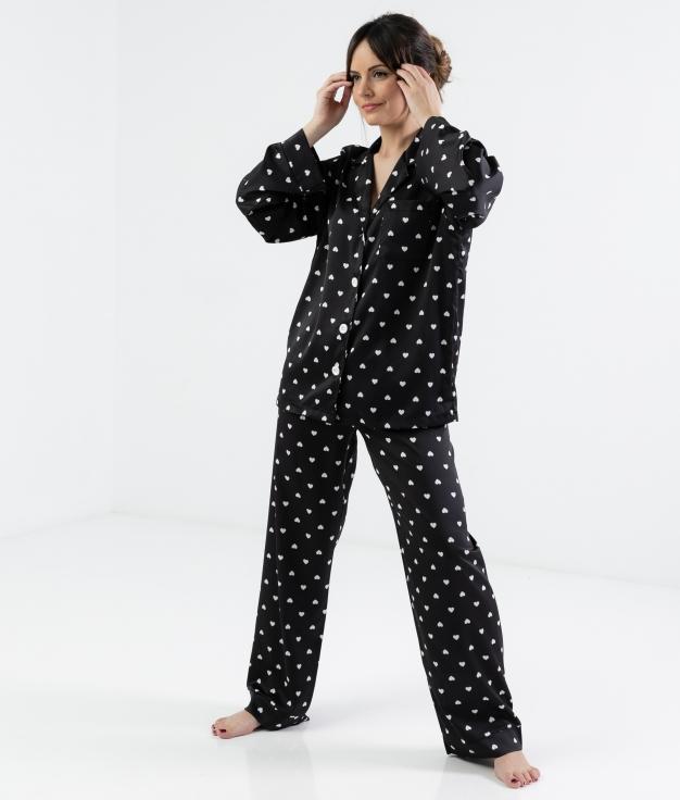 Pijama Lorenta - Preto