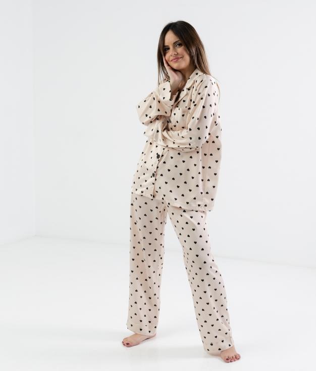 Pijama Lorenta - Bege
