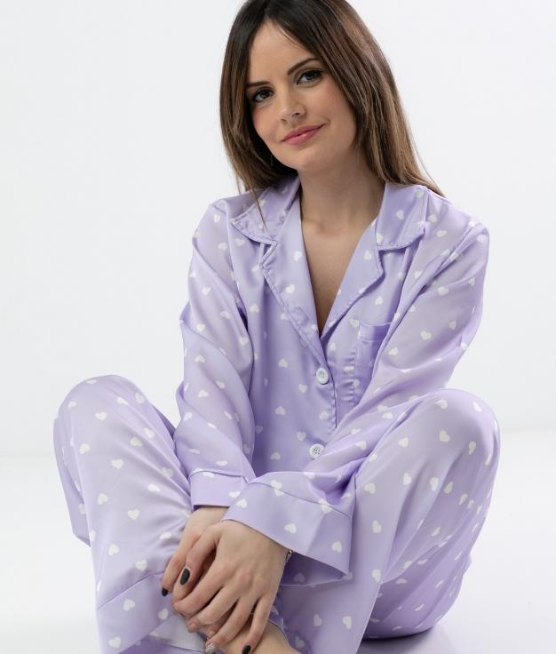 Pijama Lorenta - Lila