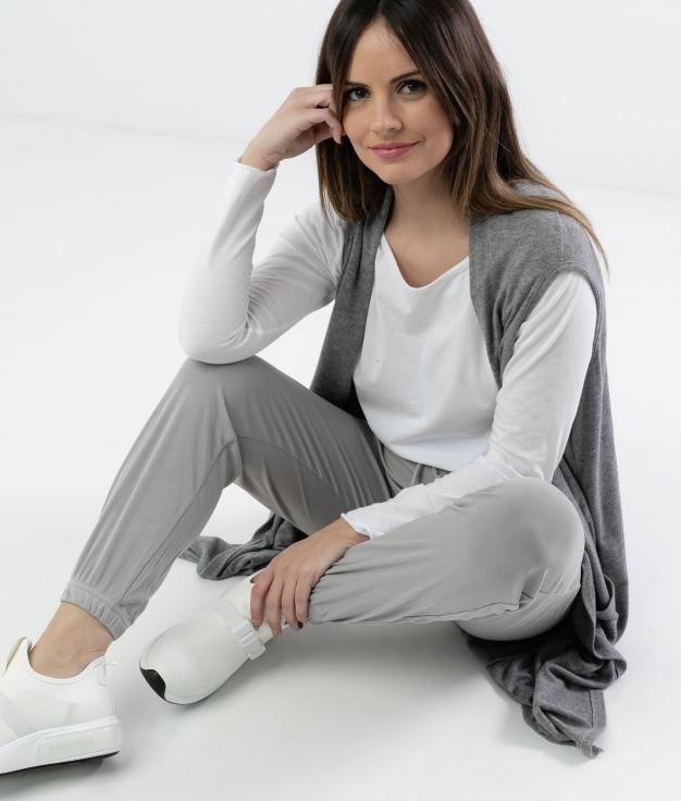 Pantalón Emere - Cinza