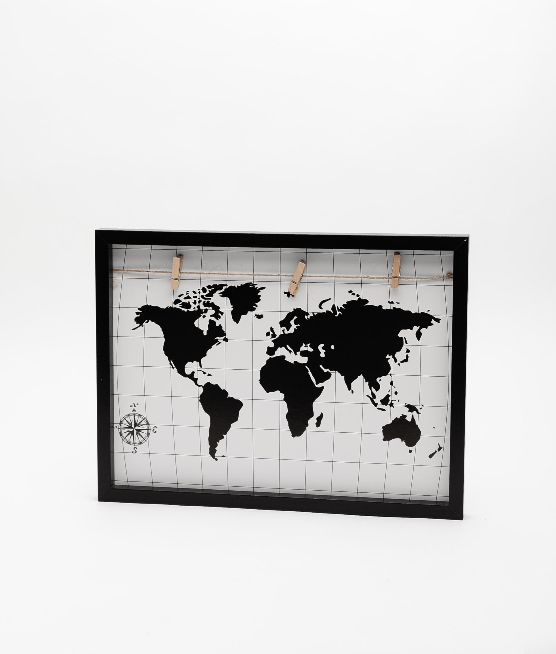 PORTAFOTOS WORLD - NEGRO