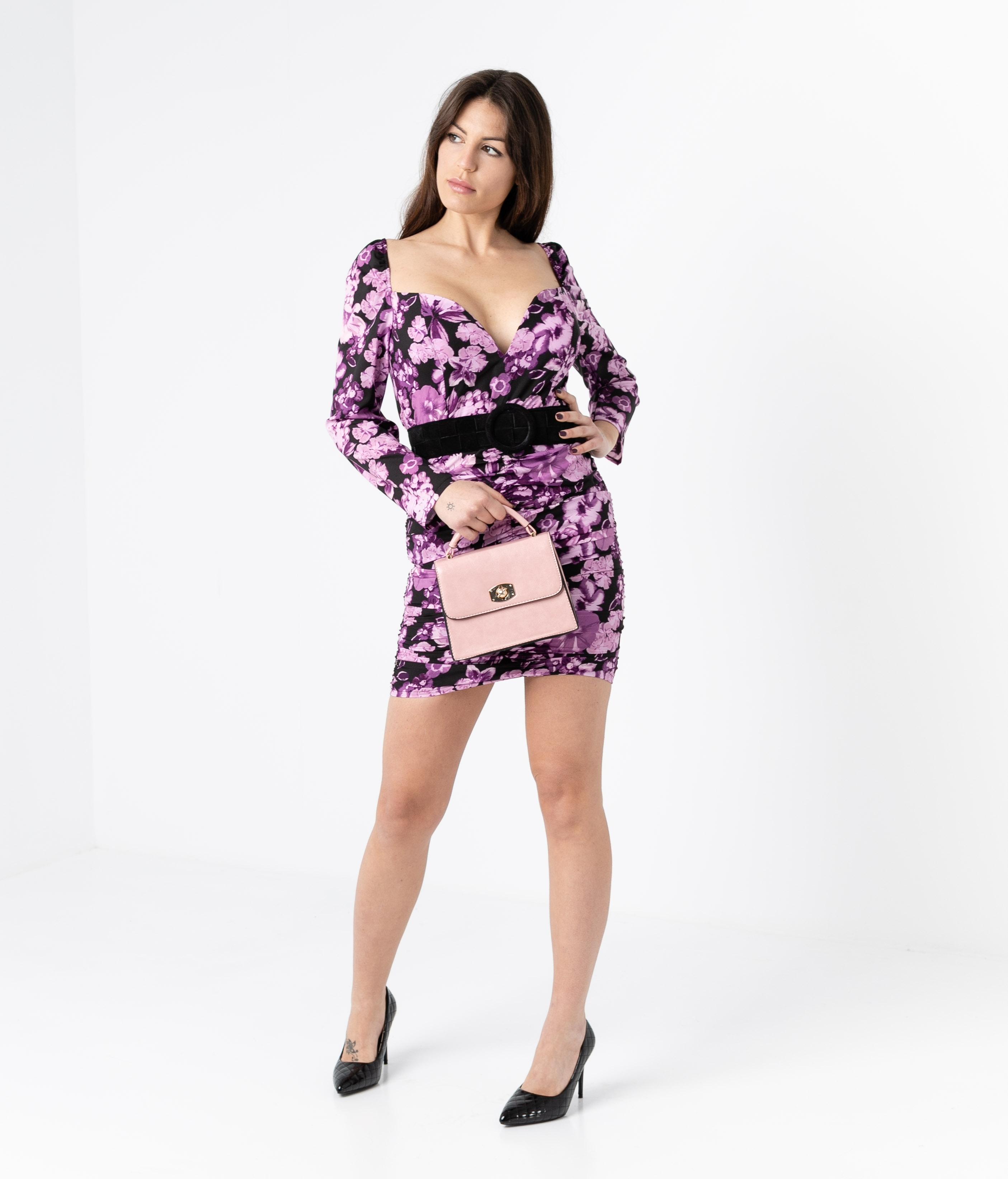 DRESS SINWE - PURPLE