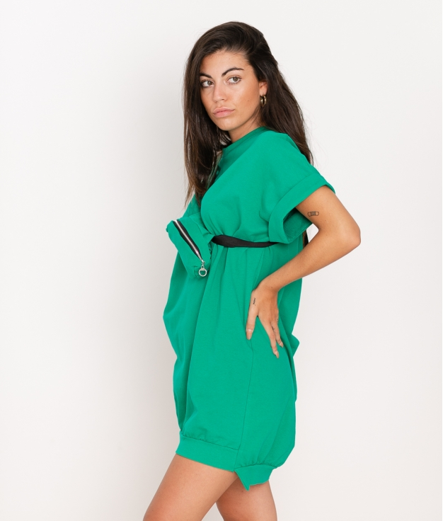 Vestido Yuner - Verde Césped