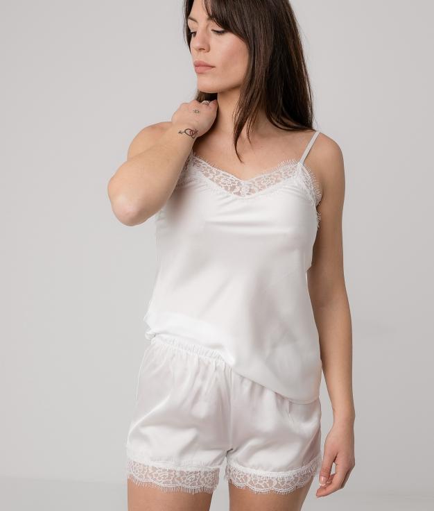 Pijama Cerabur - Blanco
