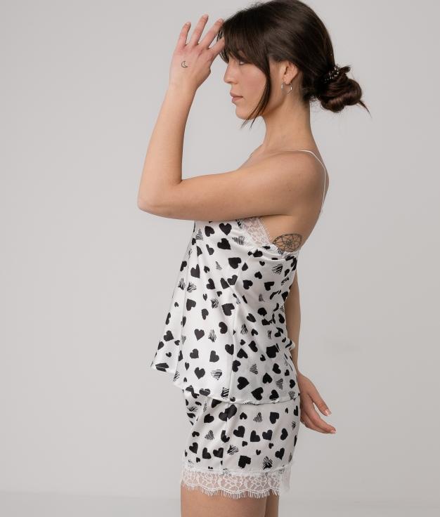 Pijama Gania - Bianco