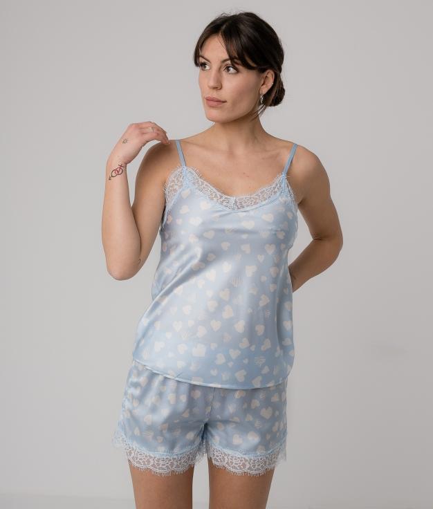 Pijama Gania - Bleu