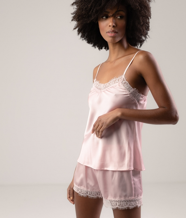 Pijama Cerabur - Rosa