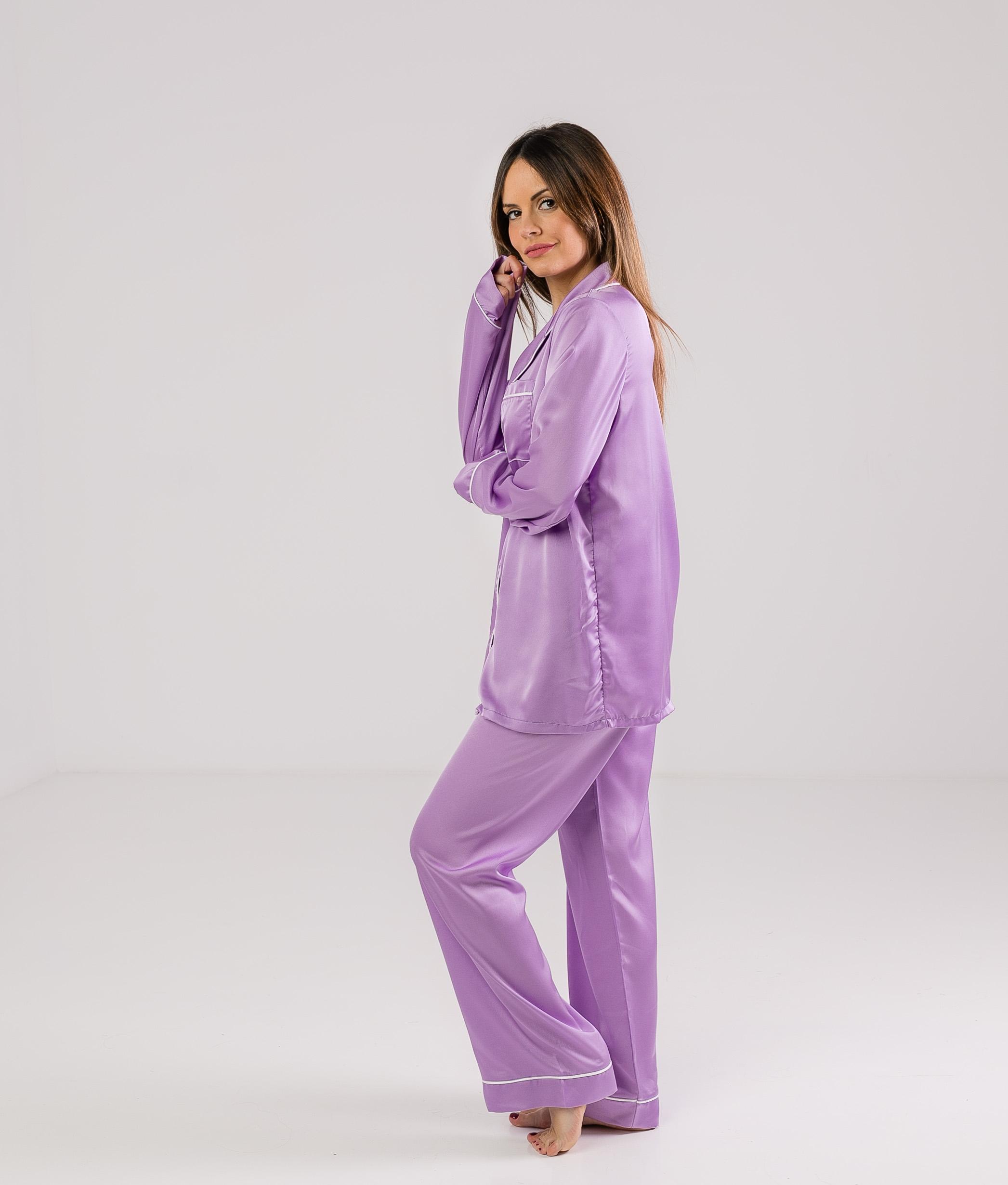 Pijama Zulena - Lilás