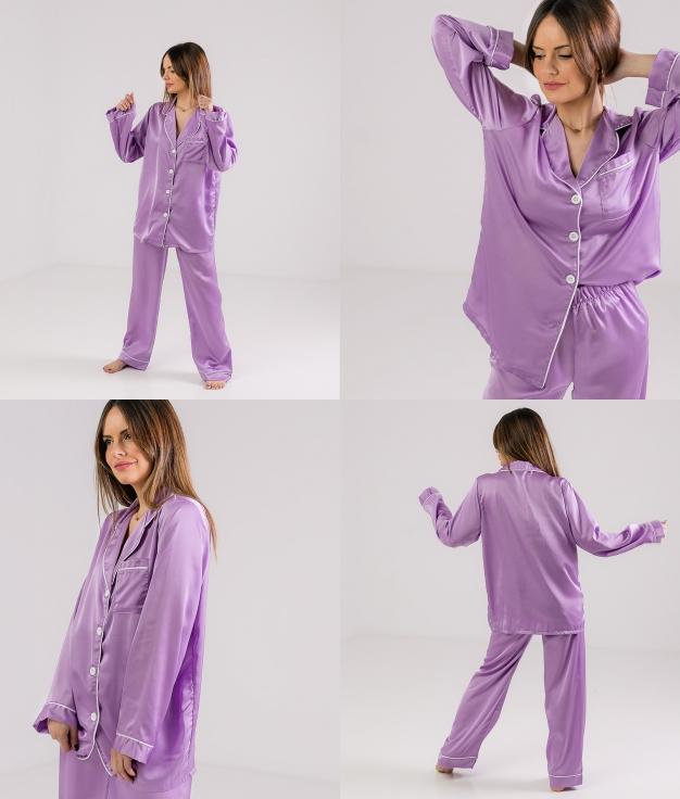 Pijama Zulena - Lila