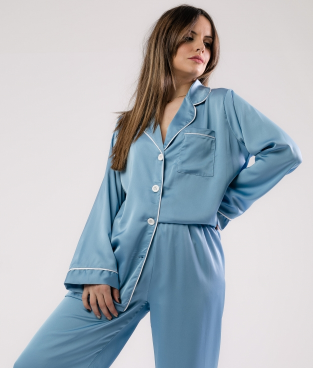 Pijama Zulena - Azul