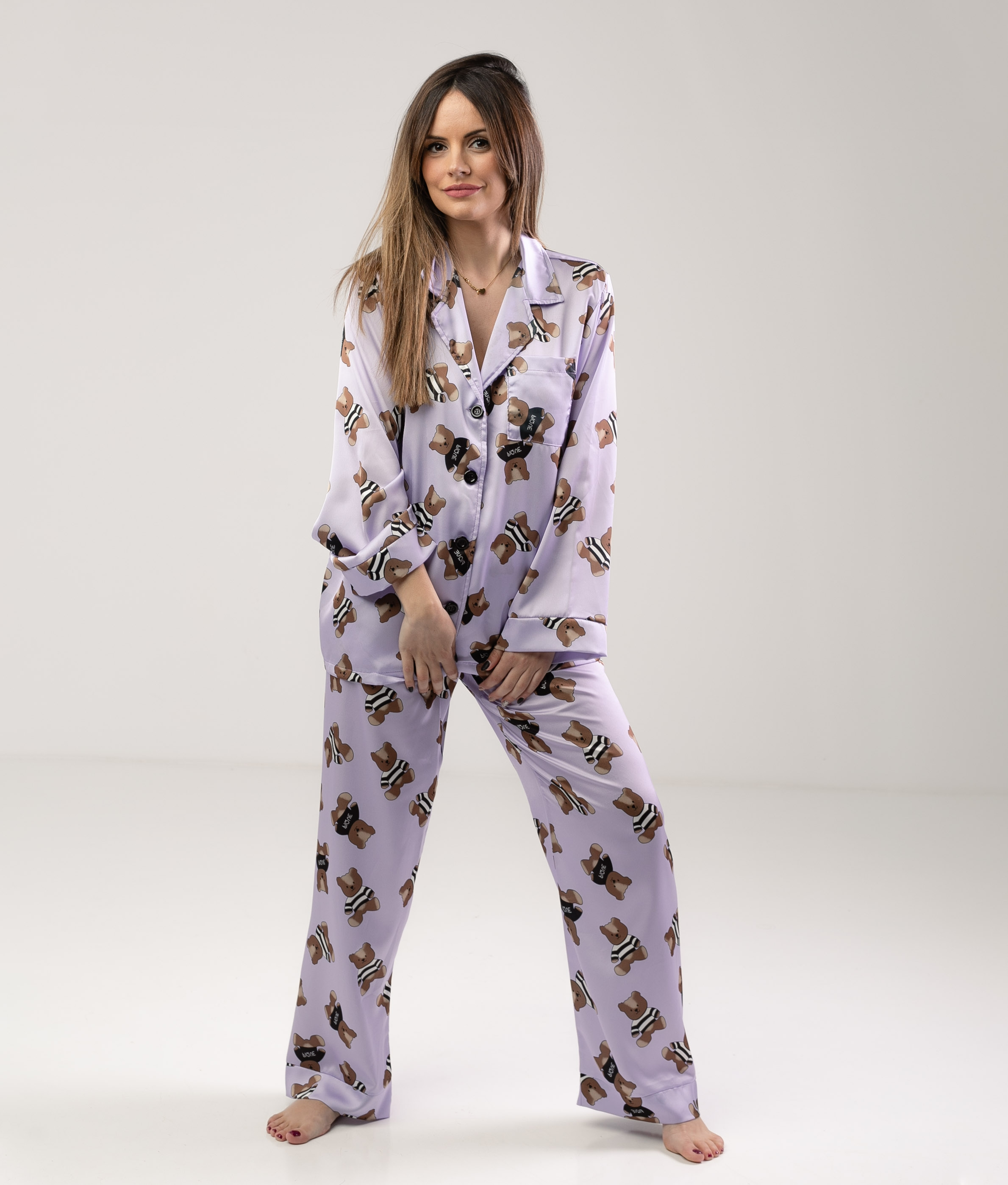 Pijama Xinkon - Lilás