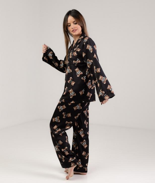 Pijama Xinkon - Preto
