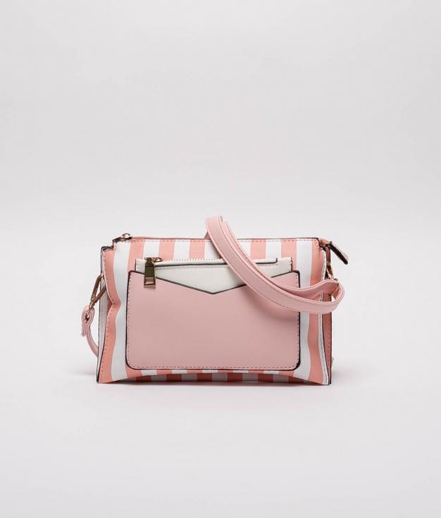 Jail Shoulder Bag - PINK GUM