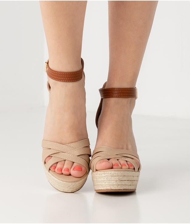 Wedge Heel Arlo - Apricot