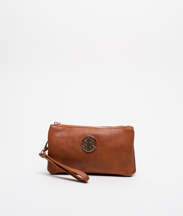 CROSSBODY BAG BALMAN - TAN