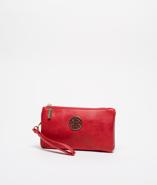CROSSBODY BAG BALMAN - RED