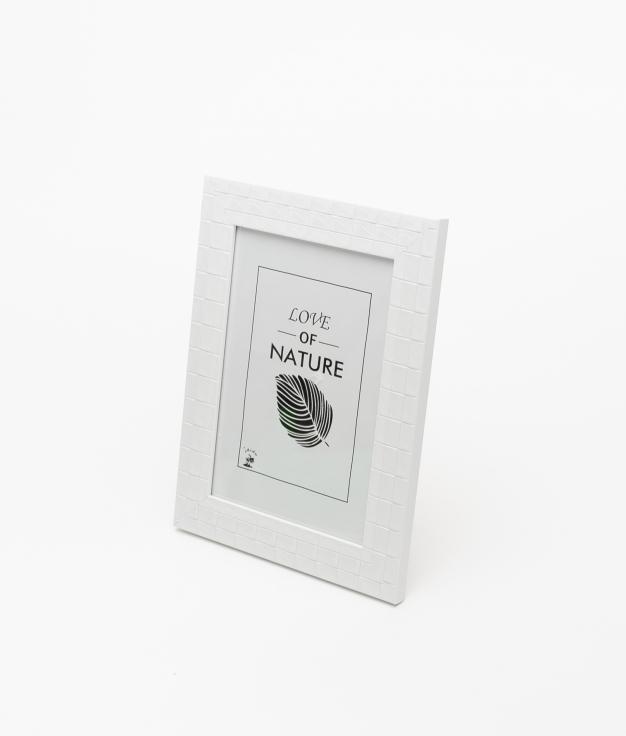 PORTAFOTO NATURE - WHITE 10X15 CM