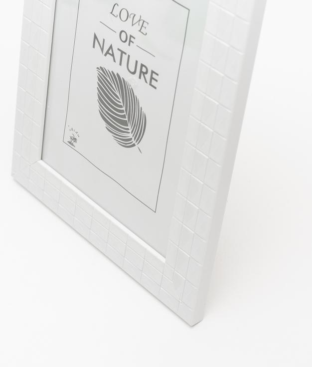 PORTAFOTO NATURE - WHITE 18X24 CM