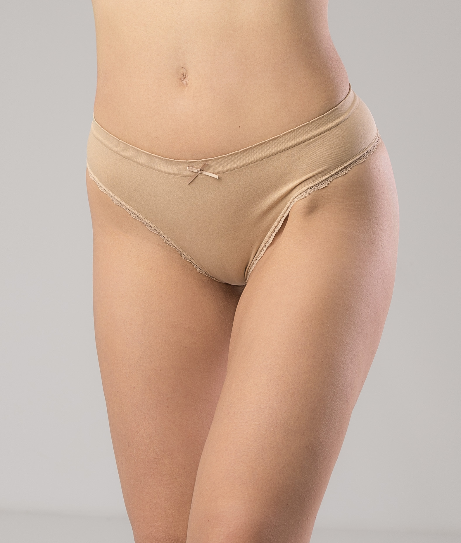 KNICKERS FRINCE - NUDE