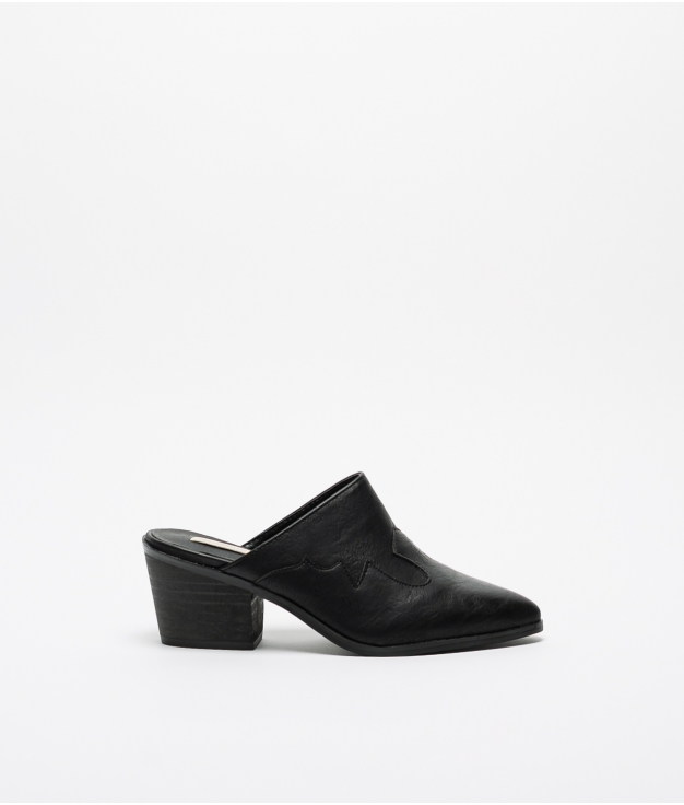 Sandalia de tacón Perpen - Preto