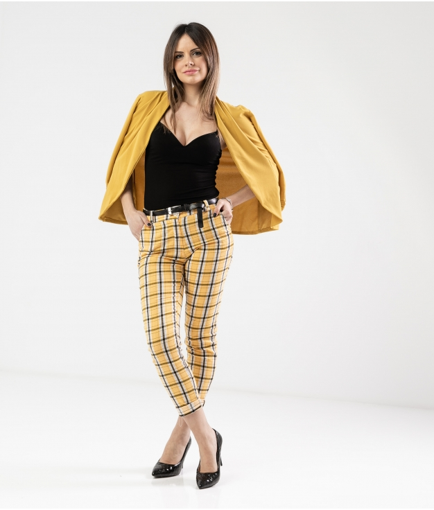 Pantaloni Kasia - Giallo