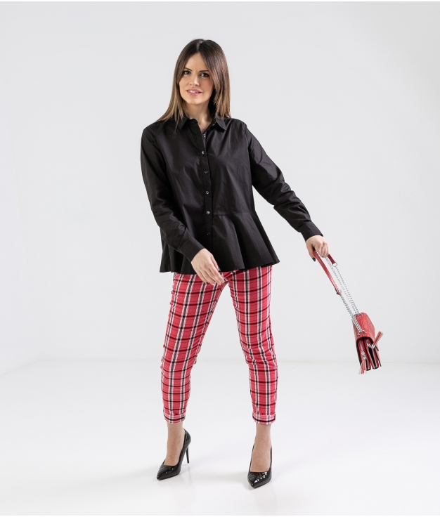 Pantaloni Kasia - Rosso
