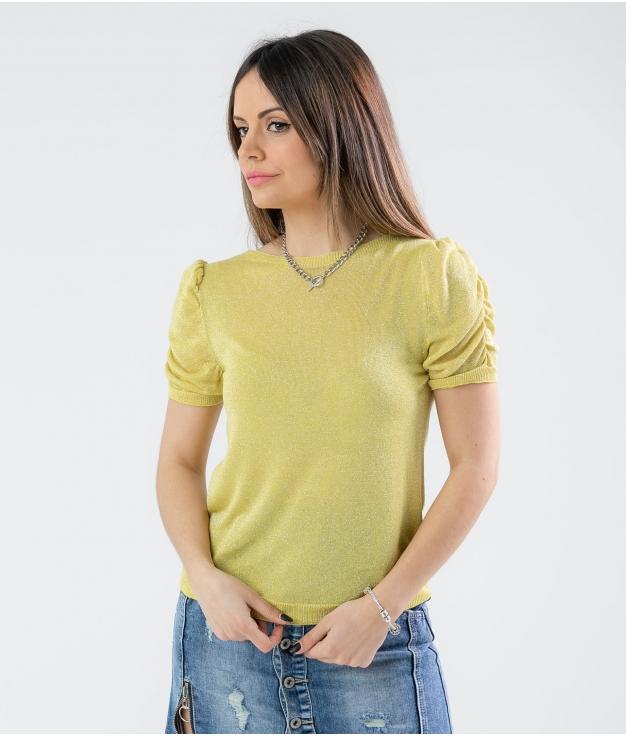 Camiseta Crunxi- Jaune