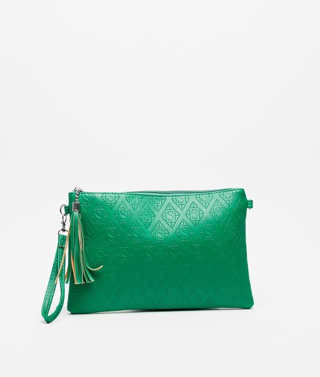 Sac porté épaule Concetta - Vert