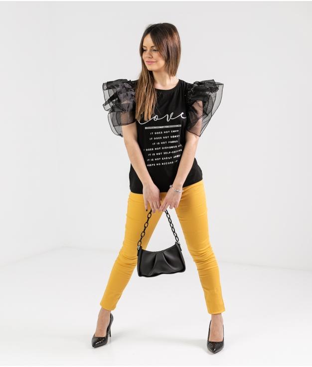 Pantalón Burun - Amarelo