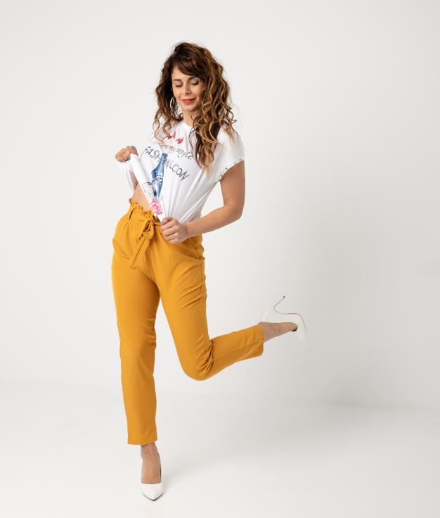 Pantalón Clepir - Amarillo