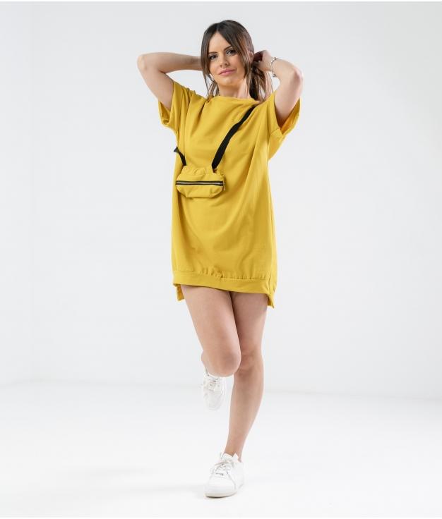 Vestido Yuner - Amarillo