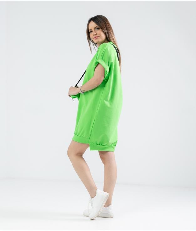 Vestido Yuner - Verde Pistacho