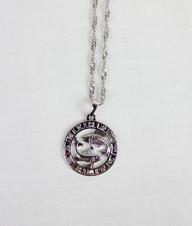 NECKLACE HOROSCOPE PISCIS - SILVER