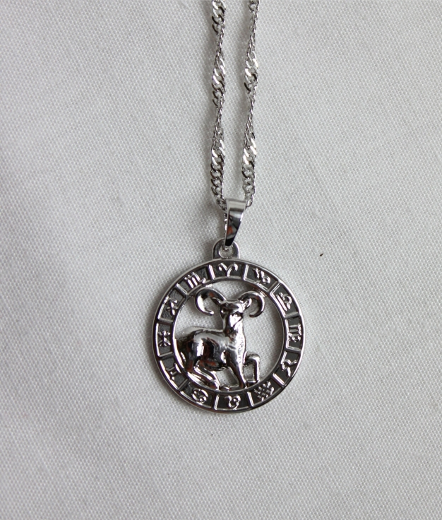 NECKLACE HOROSCOPE ARIES - SILVER