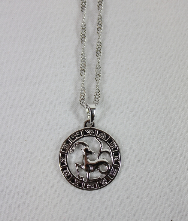 NECKLACE HOROSCOPE CAPRICORNIO - SILVER