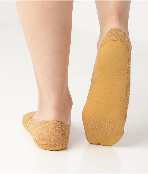 Sock CAJER - MOUSTARD