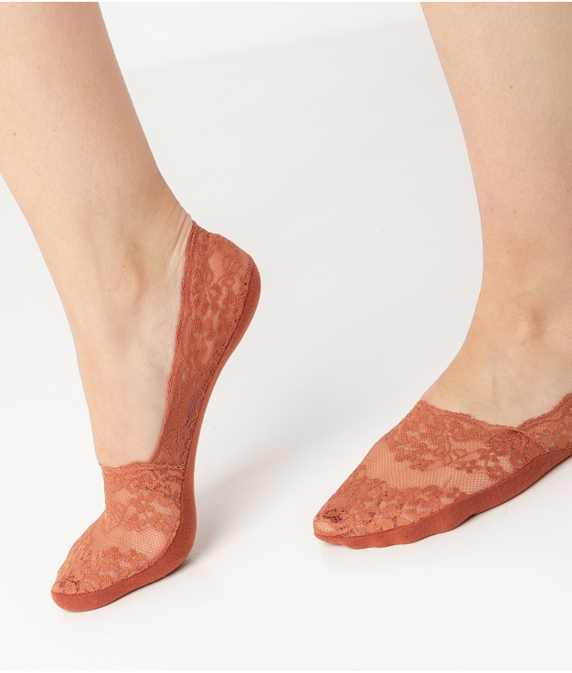 Chaussette CAJER - TUILE