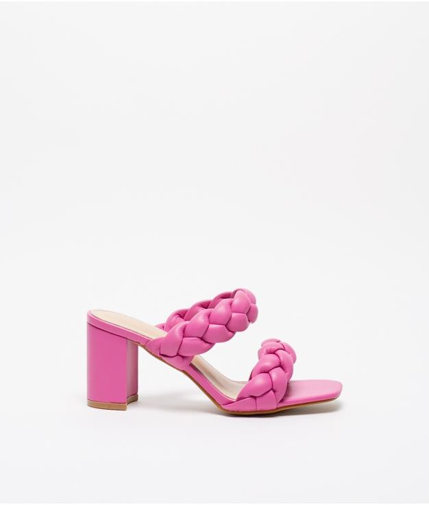 High Sandal Vivien - Fuchsia
