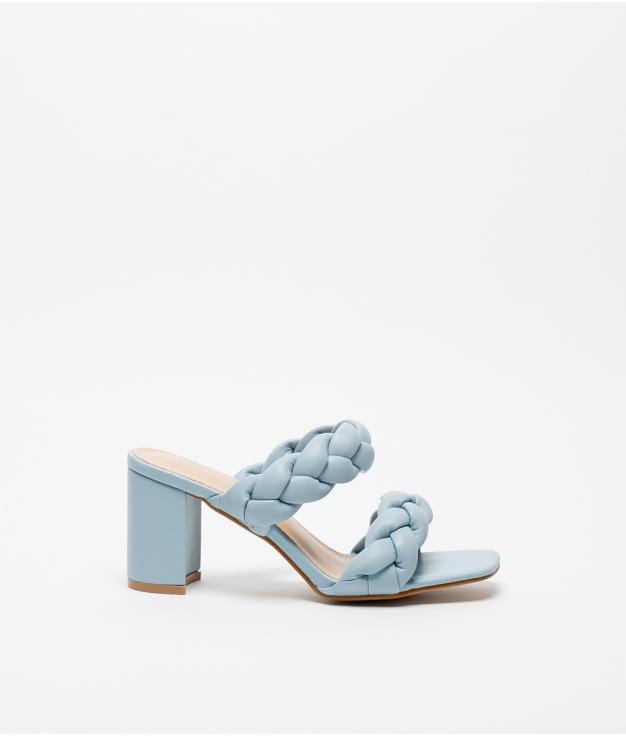 Sandale Talon Vivien - Bleu