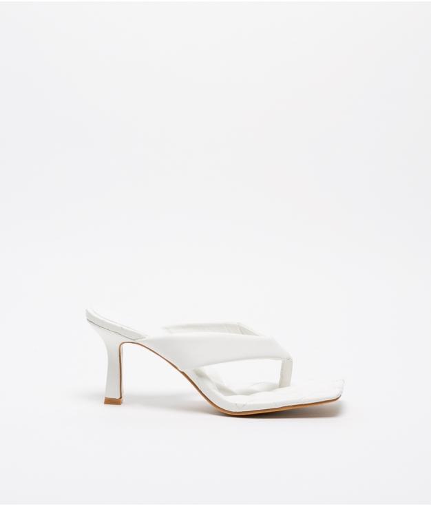 Sandália de Salto Yedet - Branco