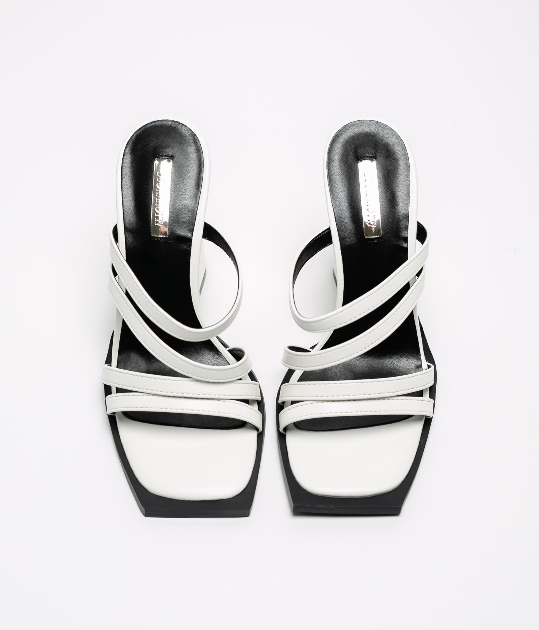 High Sandal Kurt - White